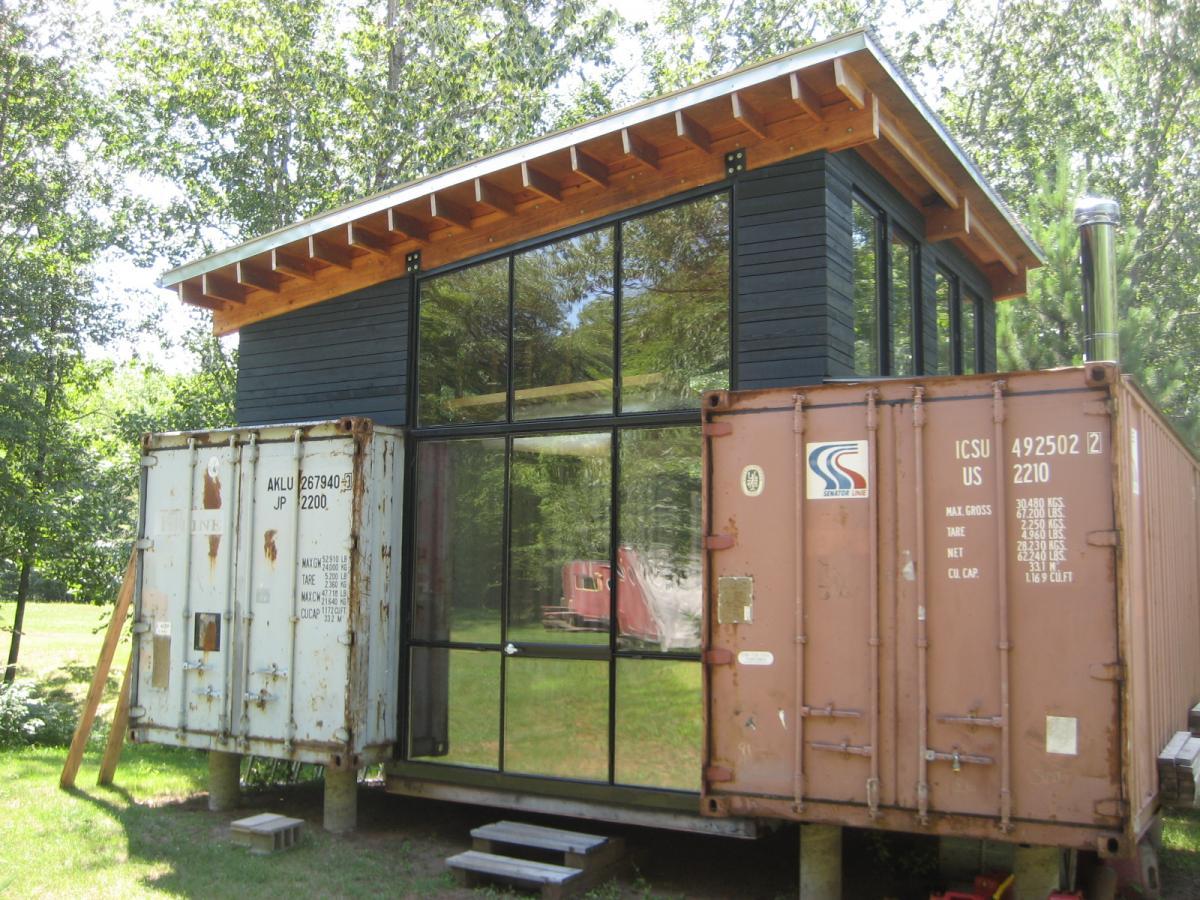 Das Leben in einem Containerhaus   Projekt Promotion