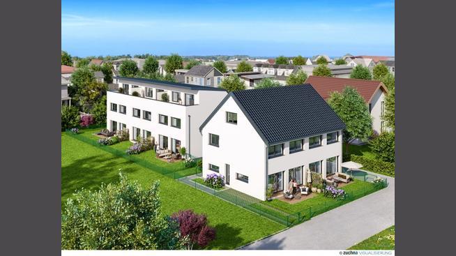Wohnen Wohnungen Toplage Leopoldau- 5 Gehminuten zur U1, attraktive Häuser im Eigentum direkt vom Bauträger- Haus 3 Pultdachvarainte 1210 Wien