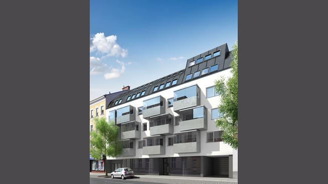 Wagramer Straße 111, 1220 Wien. JPI Exterior