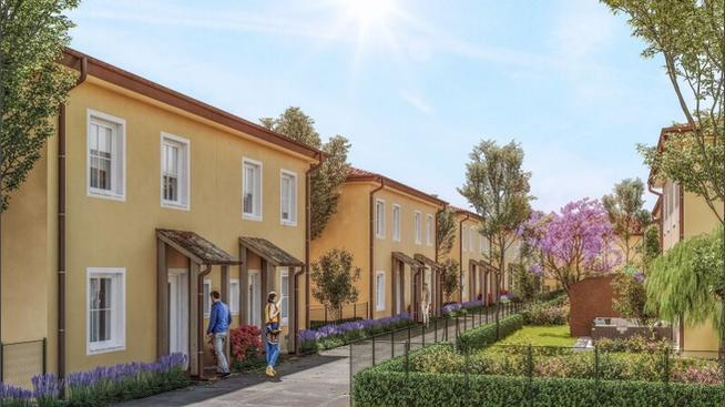 Wohnen Wohnung ACHTERSEE - Schlüsselfertig & mit Keller -exklusive & klimatisierte Doppelhäuser mit Toskana-Flair - MASSIVHAUS! 2700 Wiener Neustadt