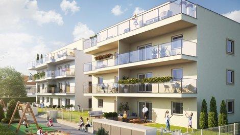 Anlage Wohnungen DONAUSTADT TULLN - Moderne Wohnanlage mit hohem Wohnkomfort 3430 Tulln an der Donau