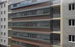 Zieglergasse Front-Fassade